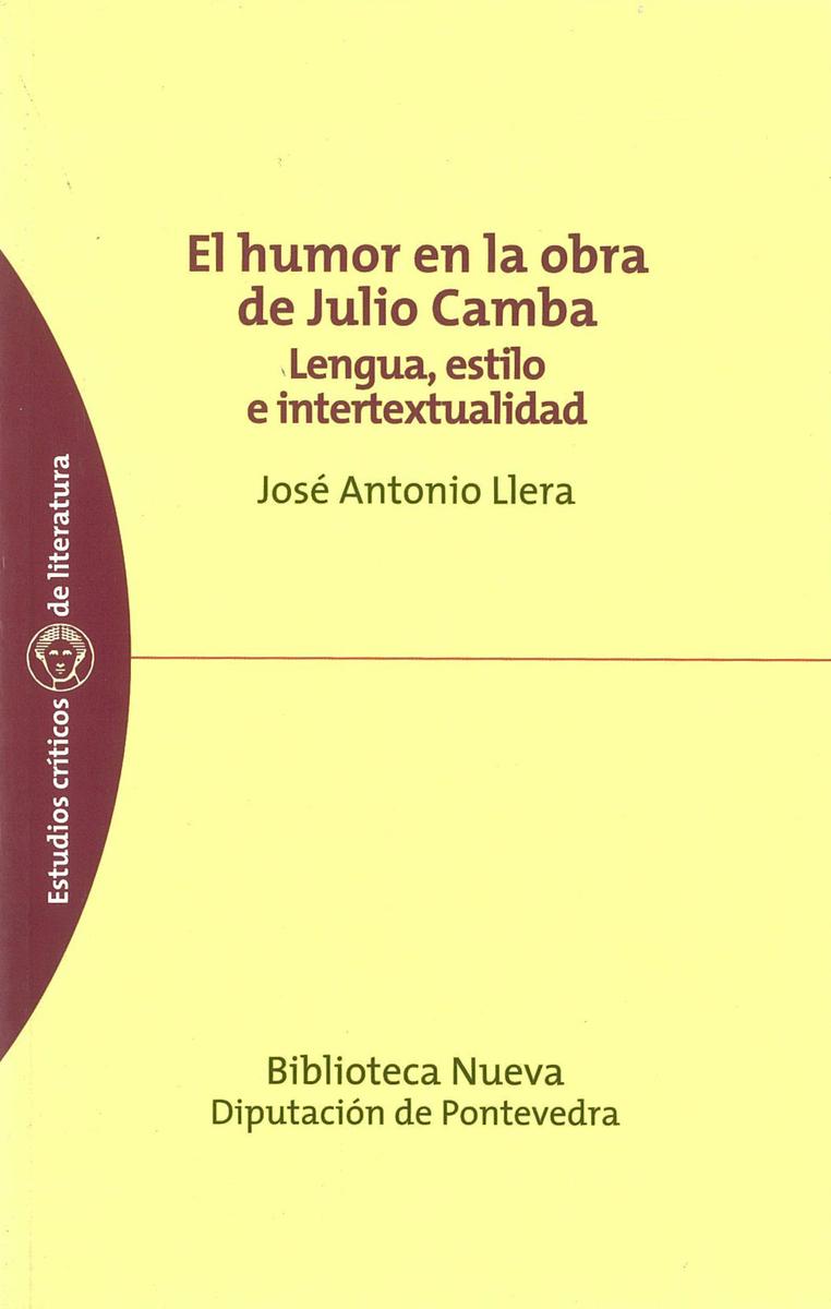 HUMOR EN LA OBRA DE JULIO CAMBA, EL: portada