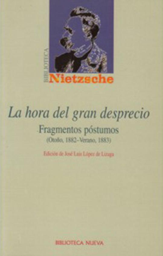 HORA DEL GRAN DESPRECIO, LA: portada