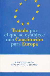 TRATADO POR EL QUE SE ESTABLECE UNA CONST.PARA EUROPA: portada