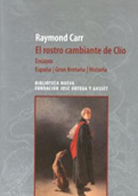EL ROSTRO CAMBIANTE DE CLIO: portada