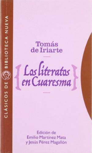 LOS LITERATOS EN CUARESMA: portada