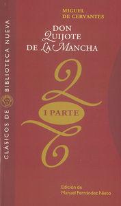 DON QUIJOTE DE LA MANCHA. (PRIMERA PARTE): portada