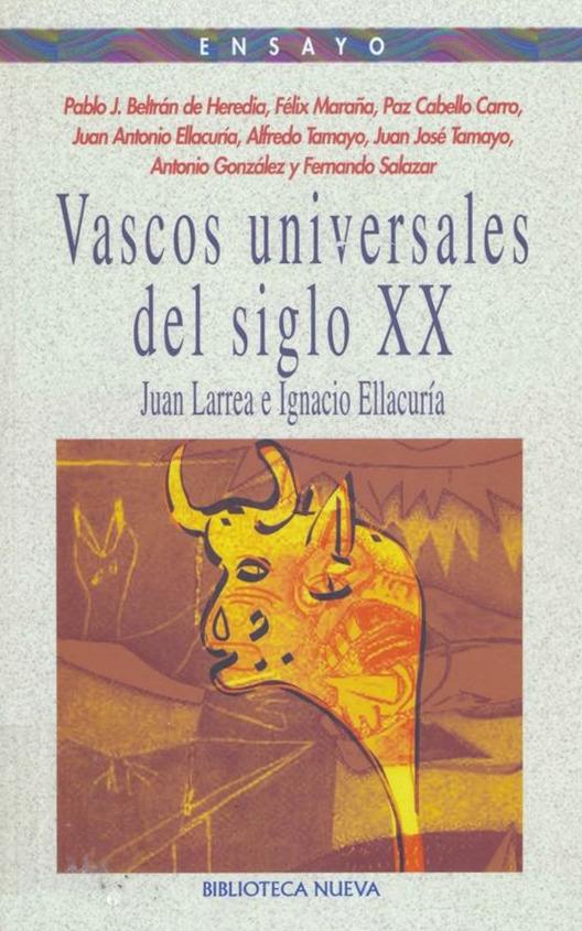 VASCOS UNIVERSALES DEL SIGLO XX: portada