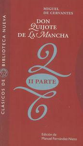 DON QUIJOTE DE LA MANCHA (SEGUNDA PARTE): portada