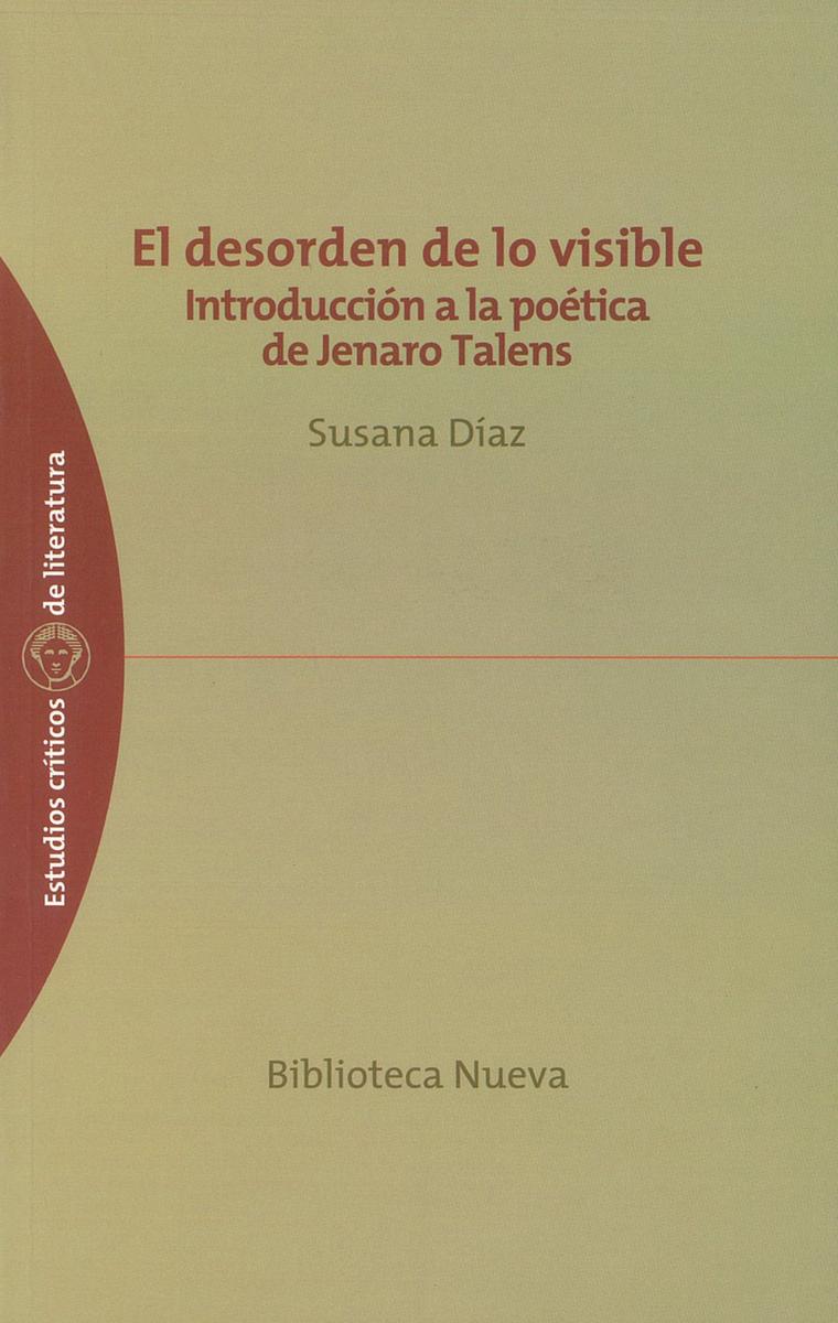 DESORDEN DE LO VISIBLE, EL: portada