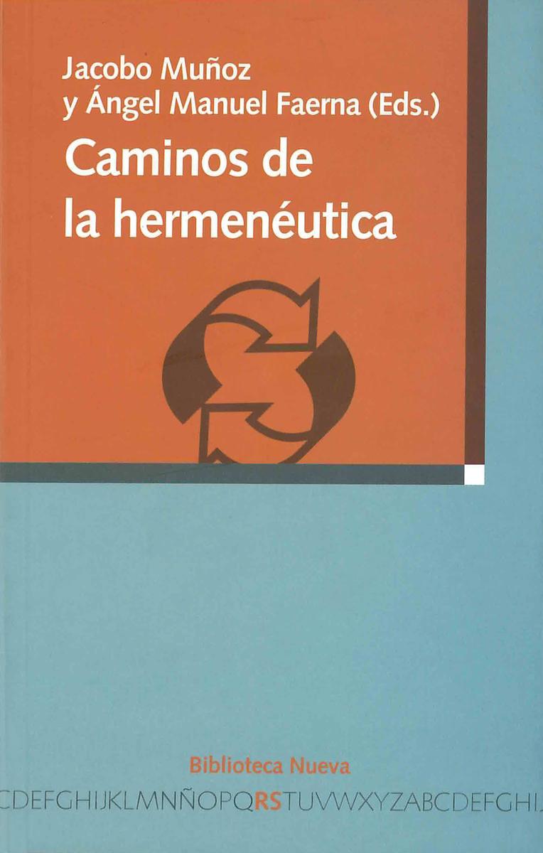 CAMINOS DE LA HERMENÉUTICA: portada