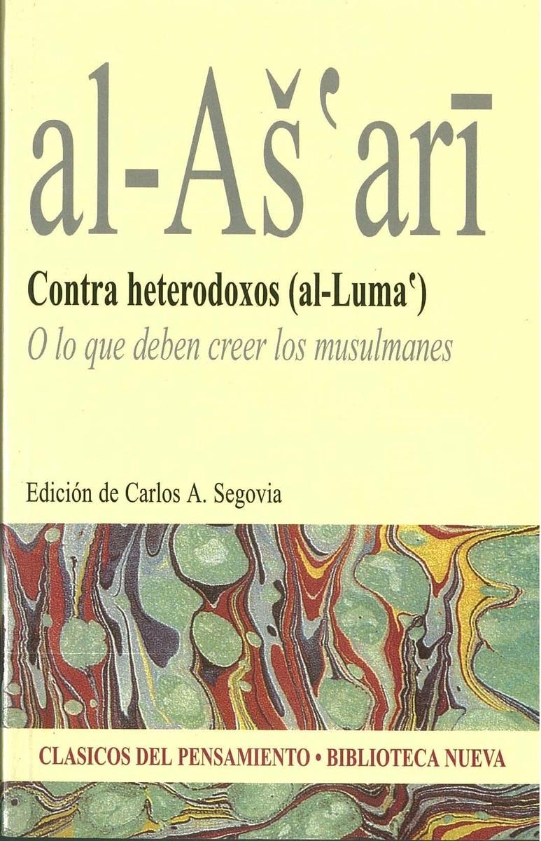 CONTRA HETERODOXOS (AL-LUMA`): portada