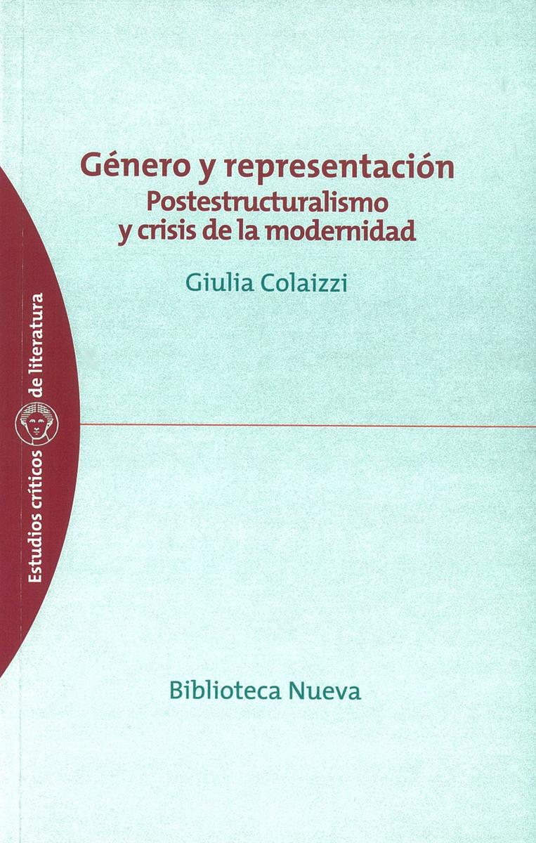 GÉNERO Y REPRESENTACIÓN: portada