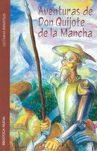 AVENTURAS DE D.QUIJOTE DE LA MANCHA: portada