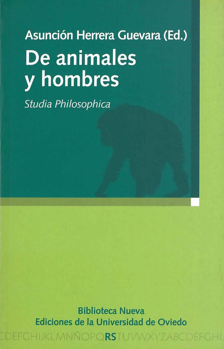 DE ANIMALES Y HOMBRES: portada