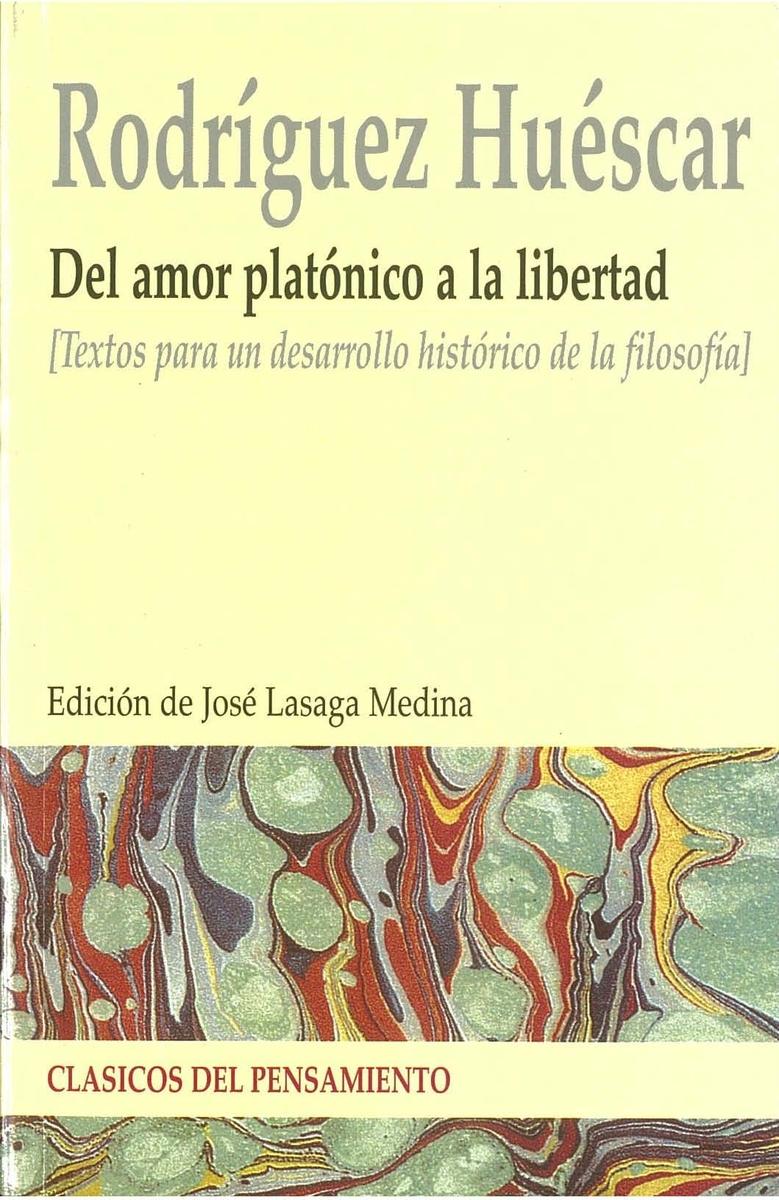 DEL AMOR PLATÓNICO A LIBERTAD: portada