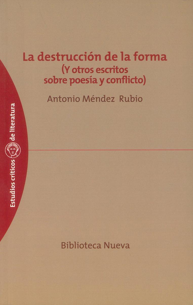 DESTRUCCIÓN DE LA FORMA, LA: portada