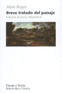 BREVE TRATADO DEL PAISAJE: portada