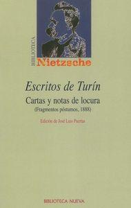 ESCRITOS DE TURíN: portada