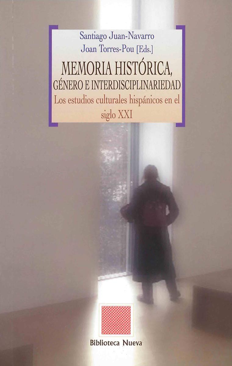MEMORIA HISTÓRICA, GÉNERO E INTERDISCIPLINARIEDAD: portada