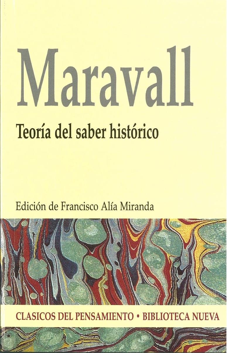 TEORÍA DEL SABER HISTÓRICO: portada