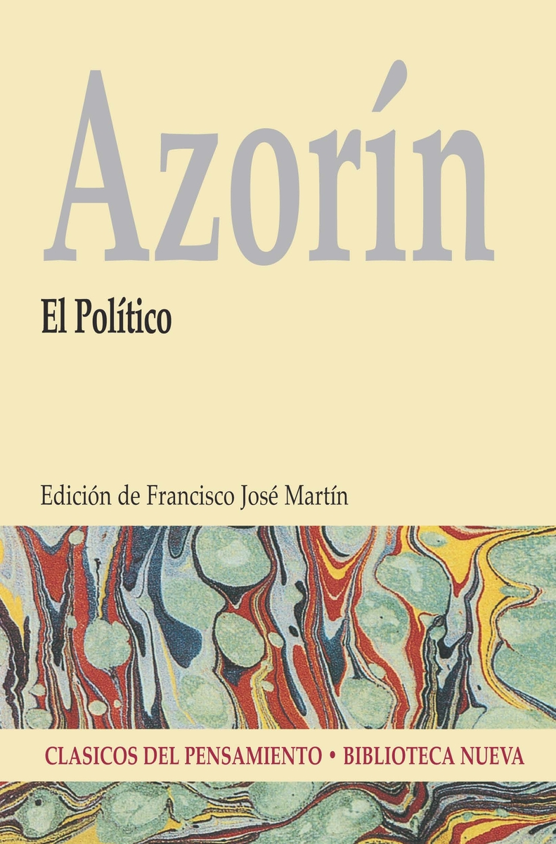 EL POLÍTICO  (AZORÍN): portada