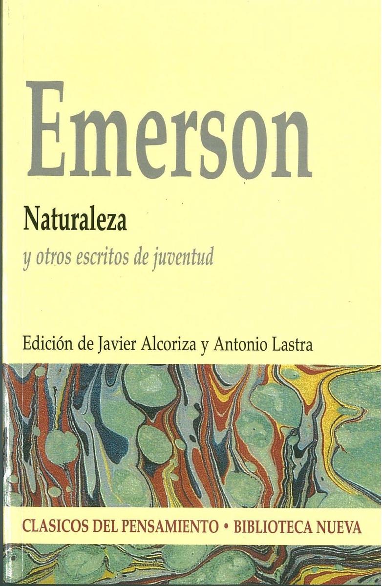 NATURALEZA Y OTROS ESCRITOS DE JUVENTUD: portada