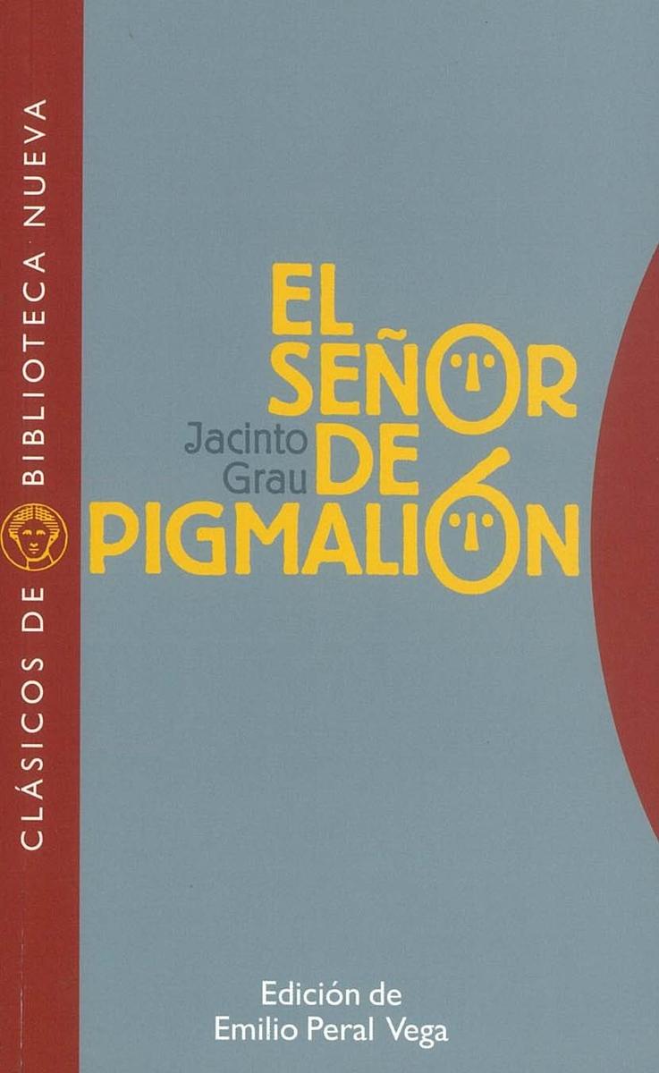 EL SEÑOR DE PIGMALIÓN: portada
