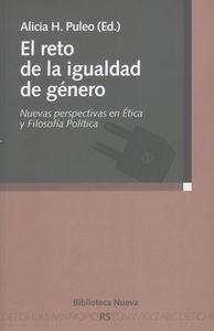 EL RETO DE LA IGUALDAD DE GéNERO: portada