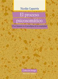 EL PROCESO PSICOSOMáTICO: portada