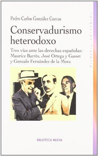 CONSERVADURISMO HETERODOXO: portada