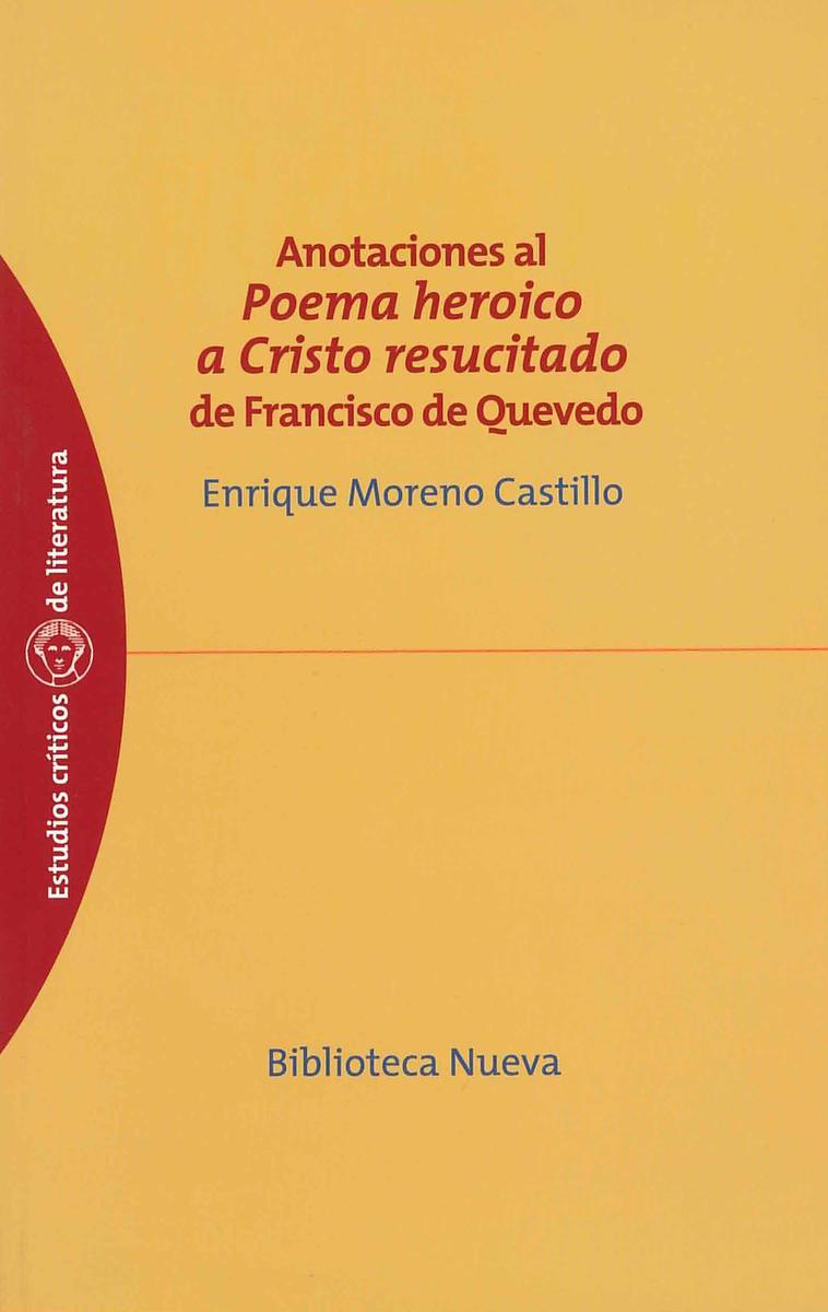 POEMA HEROICO A CRISTO RESUCITADO DE QUEVEDO: portada