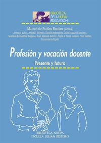 PROFESIóN Y VOCACIóN DOCENTE: portada
