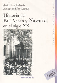 HISTORIA DEL PAIS VASCO Y NAVARRA: portada