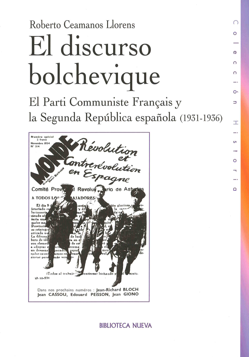 DISCURSO BOLCHEVIQUE, EL: portada