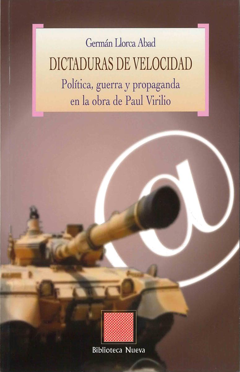 DICTADURAS DE VELOCIDAD: portada