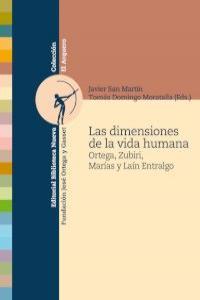 LAS DIMENSIONES DE LA VIDA HUMANA: portada