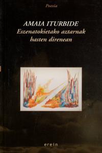 ESZENATOKIETAKO AZTARNAK HASTEM DIRENEAN - EUSK: portada