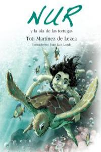 NUR Y LA ISLA DE LAS TORTUGAS: portada
