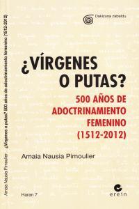 VIRGENES O PUTAS: portada