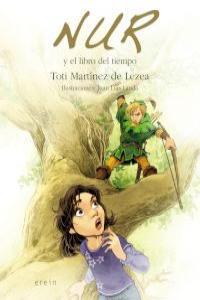 NUR Y EL LIBRO DEL TIEMPO: portada