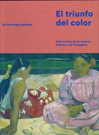 El triunfo del color: portada
