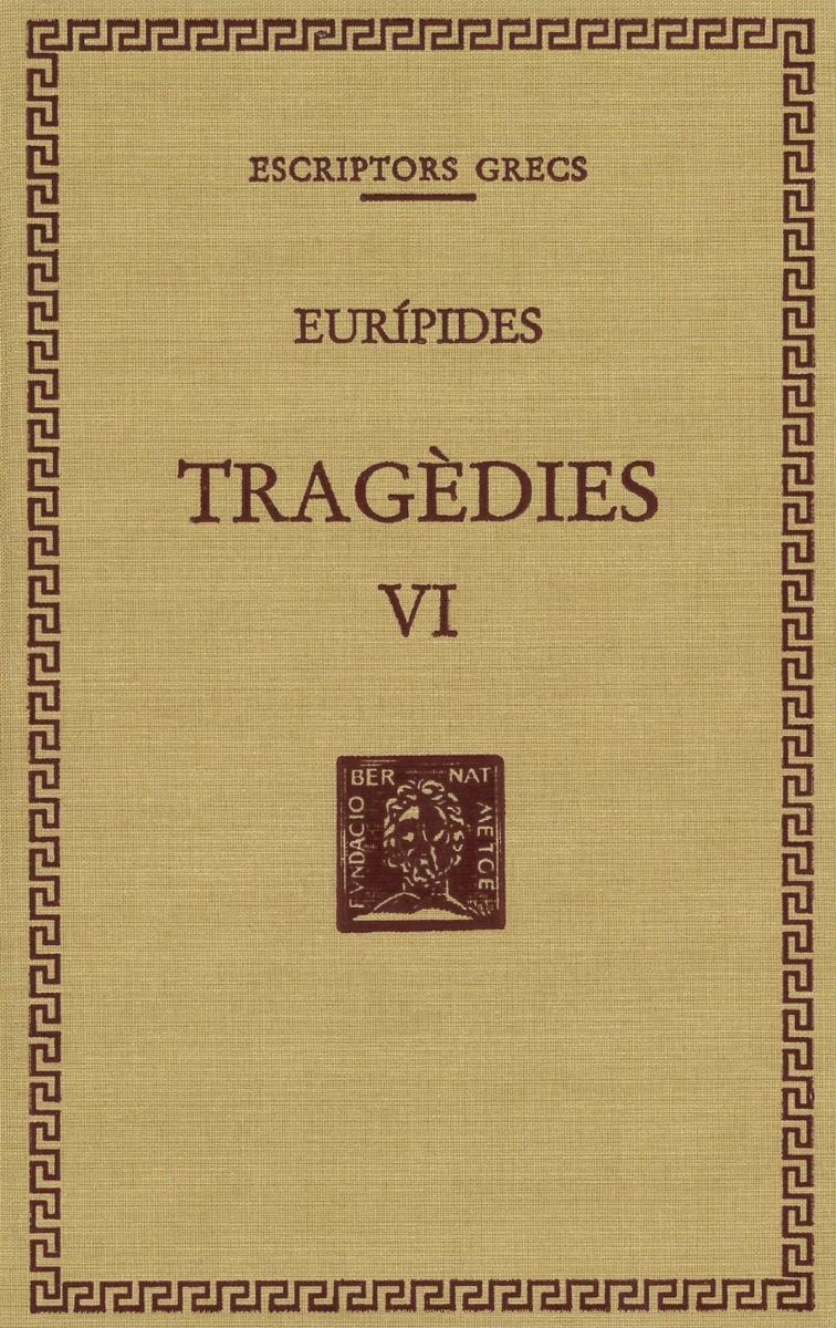TRAGèDIES, VOL. VI.: portada