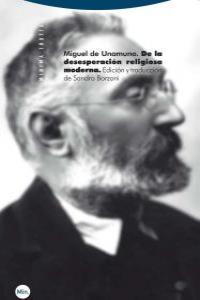 DE LA DESESPERACIóN RELIGIOSA MODERNA: portada