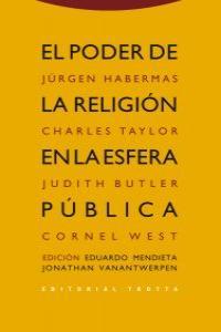 EL PODER DE LA RELIGIóN EN LA ESFERA PúBLICA: portada