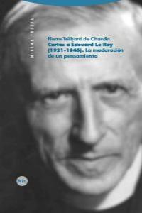 CARTAS A ÉDOUARD LE ROY (1921-1946): portada