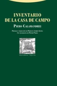 INVENTARIO DE LA CASA DE CAMPO: portada