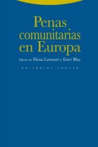 PENAS COMUNITARIAS EN EUROPA: portada