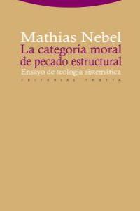 LA CATEGORíA MORAL DE PECADO ESTRUCTURAL: portada