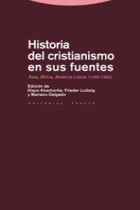 HISTORIA DEL CRISTIANISMO EN SUS FUENTES: portada