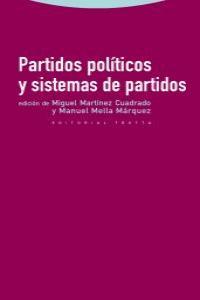 PARTIDOS POLÍTICOS Y SISTEMAS DE PARTIDOS: portada