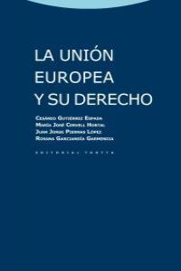 LA UNIÓN EUROPEA Y SU DERECHO: portada