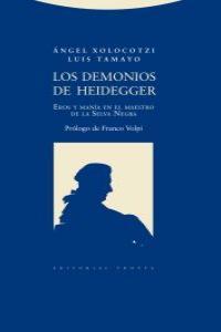 LOS DEMONIOS DE HEIDEGGER: portada