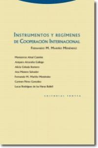 INSTRUMENTOS Y REG�MENES DE COOPERACI�N INTERNACIONAL: portada