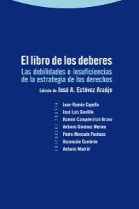 EL LIBRO DE LOS DEBERES: portada